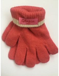 Перчатки зимние розового цвета Glopia